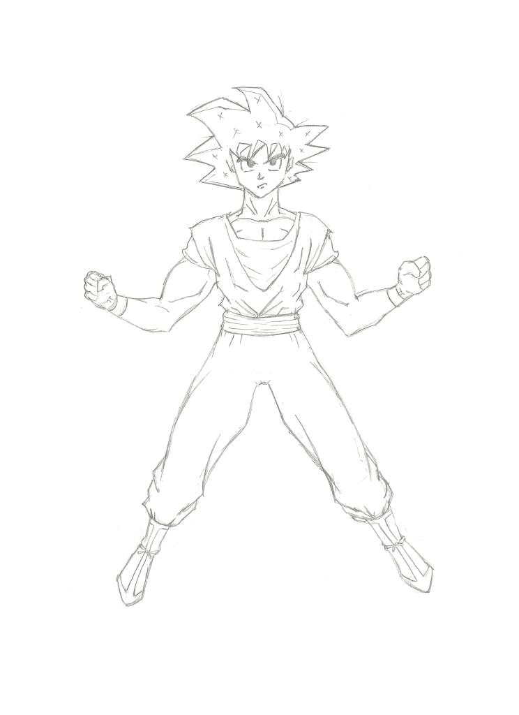 Goku Pencils