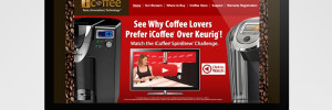 iCoffee Website Development