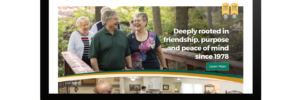 Friendship Village Columbus – Web Development